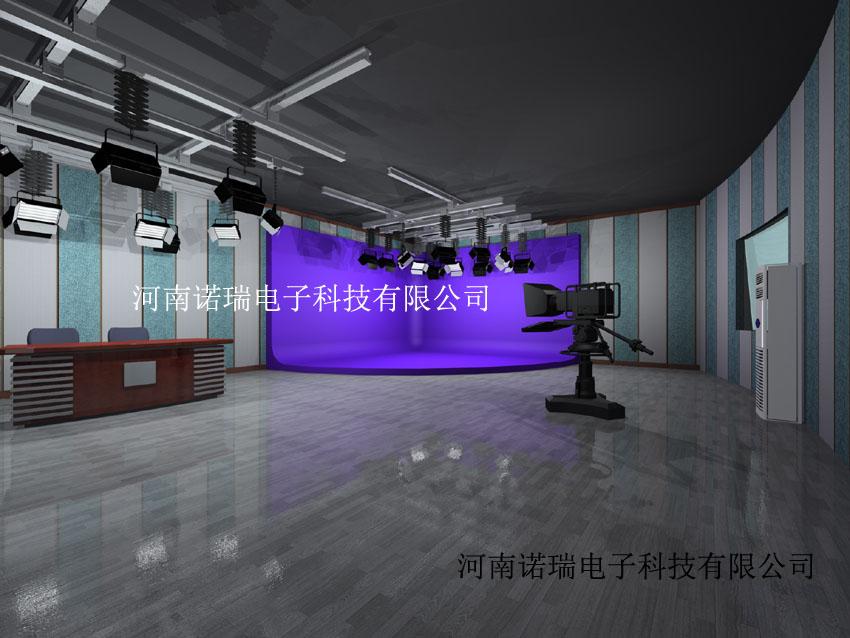 图辰全媒体虚拟互动教学实训室